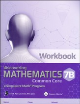Dimensions Mathematics Workbook 7B (Common Core State Standards Edition)