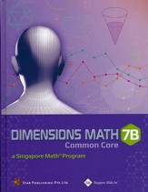 Dimensions Math CCSS Textbook 7B (Hardcover)