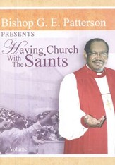 Having Church With the Saints DVD