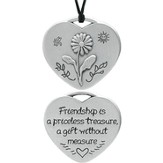Friendship, Pocket Token or Wear as a Pendant