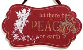 Let There Be Peace on Earth Plaque