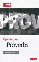 Opening Up Proverbs - Slightly Imperfect