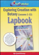 Exploring Creation with Botany Lessons 1-13 Lapbook Package (Assembled)