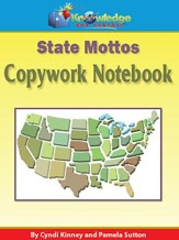State Mottos Copywork Notebook (Printed Edition)