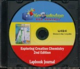 Apologia Exploring Creation With Chemistry 2nd Edition Lapbook Journal CD-Rom