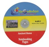 Ancient Rome Notebooking Pages CD-ROM