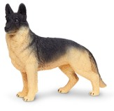 Posing German Shepherd; Toy