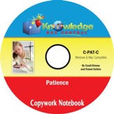 Copywork For Character Building: Patience PDF CD-ROM