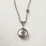 Faith Cross Locket Necklace