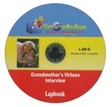 Grandmother's Virtues Interview Lapbook CD-ROM