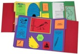 Exploring Creation with Zoology 1: Flying Creatures of the 5th Day Lessons 1-14 Lapbook Package (Assembled)