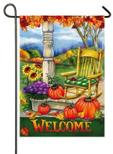 Welcome Porch Flag, Small