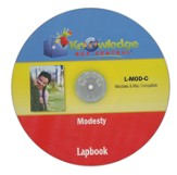 Modesty Lapbook CD-ROM