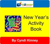 New Year's Fun Activity Book