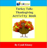 Thanksgiving Turkey Talk Activity Book