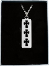 Cross Tag Pendant