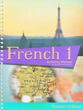 BJU French 1 Student Activities Manual, Teacher's Edition (Second Edition)