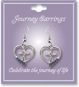 Journey Birthstone Earrings, March