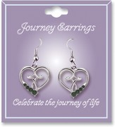 Journey Birthstone Earrings, May