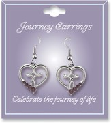 Journey Birthstone Earrings, June