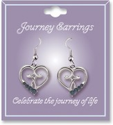 Journey Birthstone Earrings, September