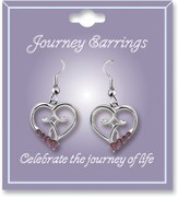 Journey Birthstone Earrings, October