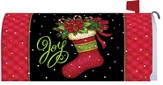 Joy Stocking Mailbox Cover