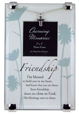 Friendship Photo Frame w/Cross