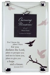 Jeremiah 29:11 Photo Frame w/Fish