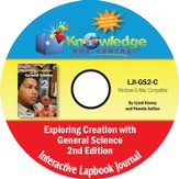 Apologia Exploring Creation with General Science Interactive Lapbook Journal PDF CD-ROM (2nd Edition)
