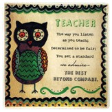 Teacher Ceramic Tile