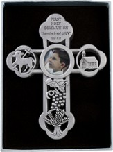 First Communion Cross, John 6:35