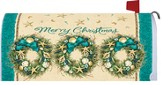 Coastal Wreath Mailbox Cover