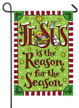 Jesus Is the Reason For the Season Flag, Small