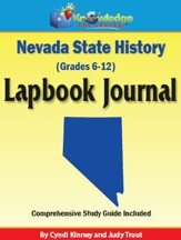 Nevada State History Lapbook Journal (Printed Edition)