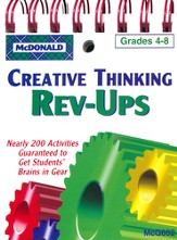Creative Thinking Rev-Ups Grades 4-8