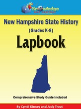New Hampshire State History Lapbook (Printed Edition)