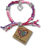 Love Your Family, Express Yourself Cord Bracelet