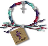 Have Faith, Express Yourself Cord Bracelet