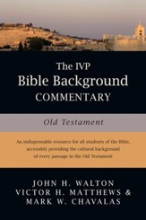 The IVP Bible Background Commentary: Old Testament - PDF Download [Download]