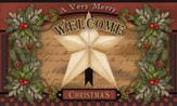 Christmas Star Door Mat
