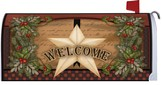 Christmas Star Mailbox Cover