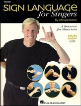 Sign Language for Singers (Book/CD)