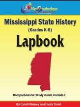 Mississippi State History Lapbook (Printed Edition)