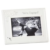 We're Engaged Photo Frame