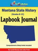 Montana State History Lapbook Journal (Printed Edition)