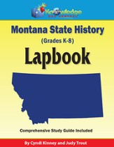Montana State History Lapbook (Printed Edition)