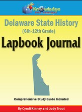 Delaware State History Lapbook Journal (Printed Edition)