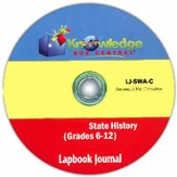 Kansas State History Lapbook Journal PDF CDROM