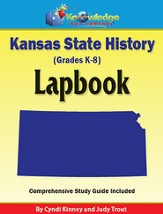 Kansas State History Lapbook (Printed Edition)